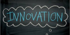 Innovation chalkboard, by Missy Schmidt