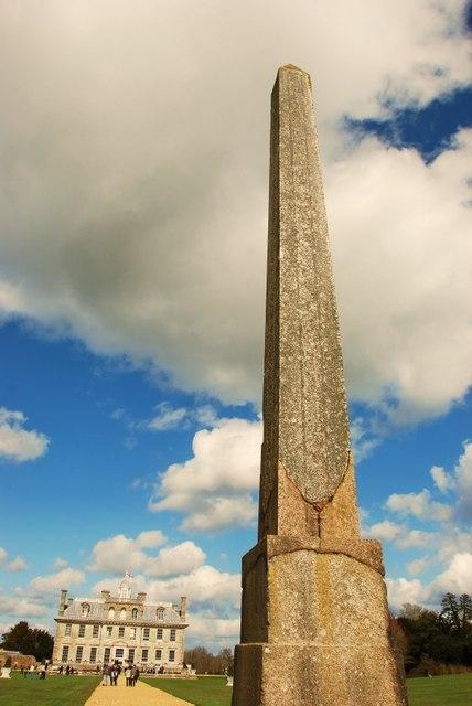 Philae Obelisk at Kingston Lacy