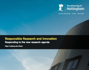 RRI Responding to the new research agenda