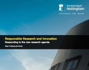 RRI Responding to the new research agenda