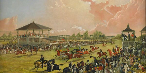 A_Race_Meeting_at_Jacksonville,_Alabama_by_W.S._Hedges_-_BMA