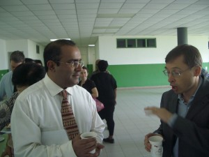 Professor Edmund Terence Gomez, Dean, Social and Behavioural Science Research Cluster (Universiti Malaya) and Professor Neville Wylie