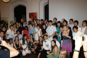 YSSP 2012 Group Photo at the Award Ceremony and Farewell Dinner