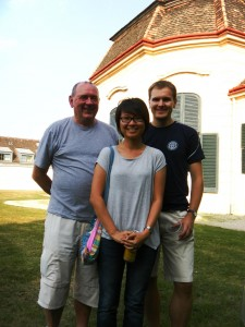 Late Summer YSSP Workshop. Marek Makowski (left), Pin Pin Oh(center) and Karol Opara (right)