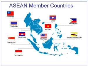 ASEAN Member Countries  Population (million): 604.8, GDP per capita PPP USD: 5,581, % World Exports: 6.9 (Source: www.asean.org and World Development Indicators 2012, The World Bank, Washington D.C.)
