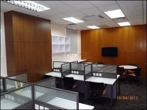 EB36 MBA Workroom (April 2013): After refurbishment