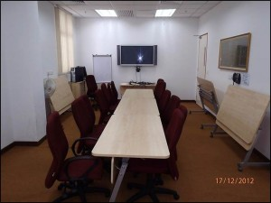 EB36 MBA Workroom (December 2012): Before refurbishment
