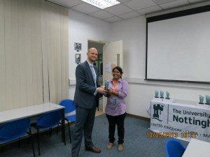 Research Showcase: Renu Geetha- Peer Recommendation Prize