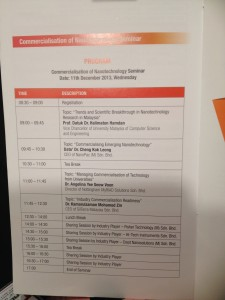 Nanotechnology Seminar Nov 2013 - 3