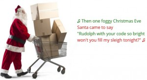 Packing Santa's Sleigh (Screen shot from Kaggle web site - https://www.kaggle.com/c/packing-santas-sleigh)