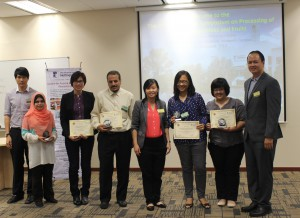 Winners of the Best Oral and Best Poster Papers