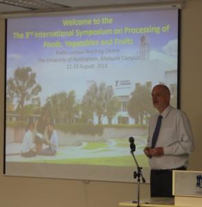 Professor Ian Harrison, Dean of Engineering (UNMC)