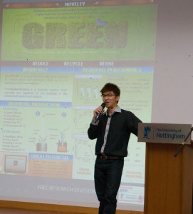 Research experience sharing from Mr. Wilson Ho Wei Sheng (Grand Prize Winner of UNMC PGR Poster Competition 2013)