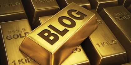 Blogging Gold (downloaded from Google (7 Apr 2013), labelled as free to reuse)