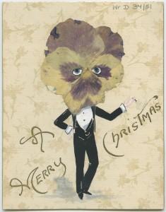 Xmas Card, 1890