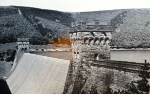 Photograph of Derwent Dam, Derbyshire