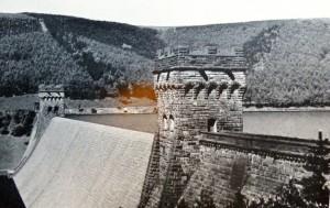 Photograph of Derwent Dam, Derbyshire