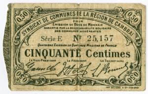 Billet de necessite, c.1914-1918, Ln 2-1-12-45