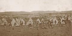 Camp of the 97th Regiment in front of Sevastopol [Ukraine], by James Robertson or Felice Beato, c. Sep 1855 (Ref: Ne C 10884/2/13)
