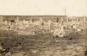 English burial ground on Cathcart Hill, Crimea, Ukraine, by James Robertson, c. Sep. 1855 (Ref: Ne C 10884/2/5)