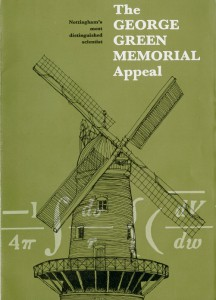 George Green Memorial Appeal leaflet, 1979