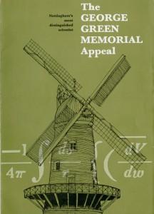 George Green Memorial Appeal leaflet, 1979