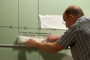 Image of exhibition installation