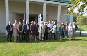 Group of descendants of George Green at Lakeside, 11 September 2014