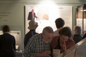 Visitors at the Private View, 11 September 2014