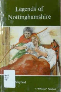The Worksop Poltergeist story features in this pamphlet, alongside Nottingham's more famous tales of folklore.