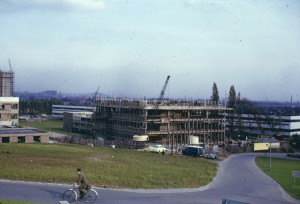 Science Library under construction, 1964 (Acc 2006/2/10)