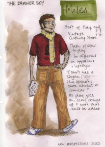 Costume Design 'The Drawer Boy'