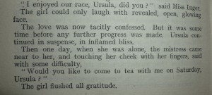 Paragraph from the 1915 edition of 'The Rainbow'.