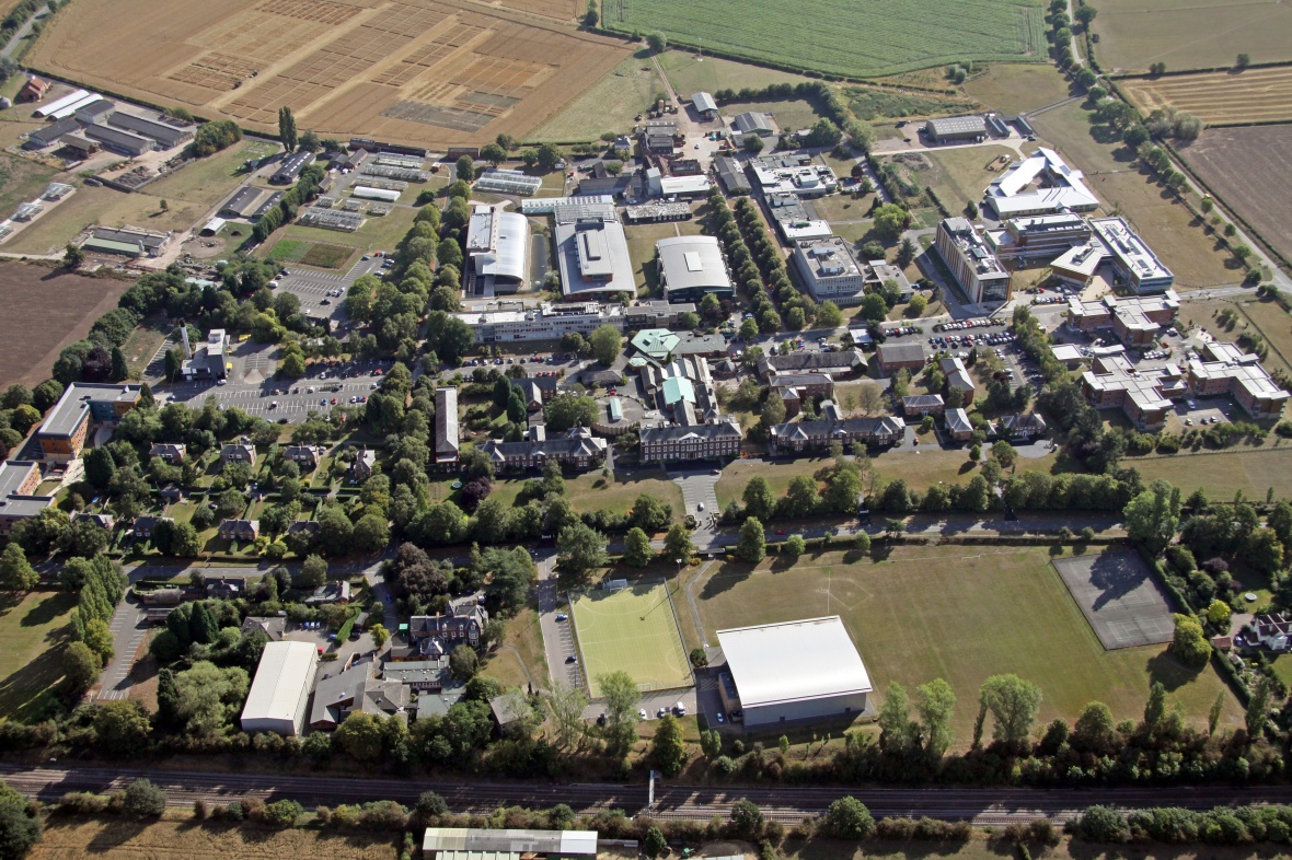Sutton Bonington Campus Map Sutton Bonington campus   aerial view 2011   Manuscripts and