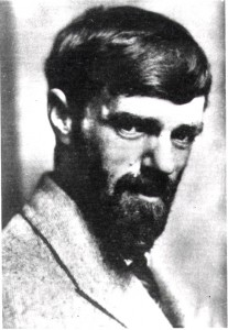 Photograph of D.H. Lawrence probably taken in the 1920s (ref: La Phot 1/17)
