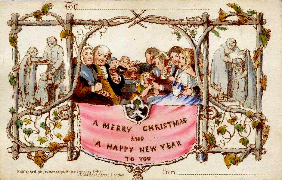 A back-of-the-envelope history of Christmas cards - Manuscripts ...