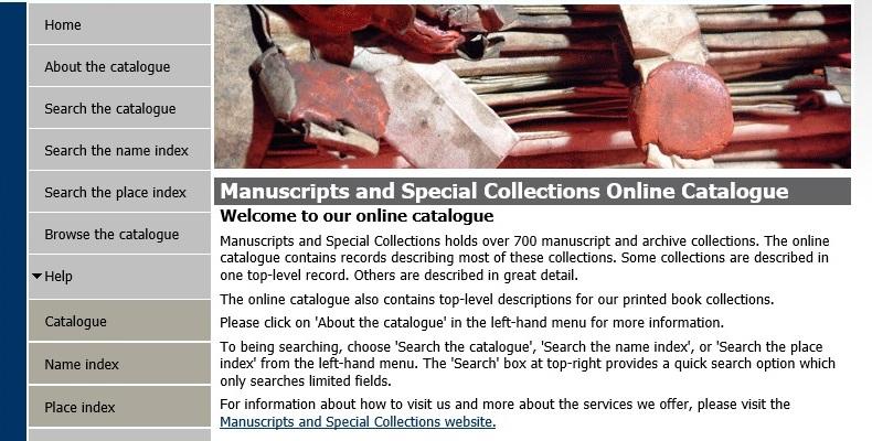 The new Manuscripts Online Catalogue