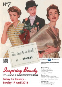 Poster of the Inspiring Beauty exhibition