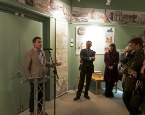 Levison Wood officially opening 'Grand Tourists and Others' at the Weston Gallery