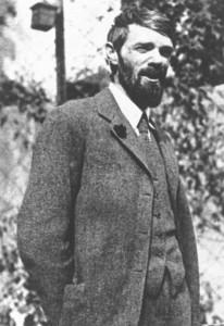 D H Lawrence in Mexico in 1925 (ref: La Phot 1/19)