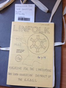 Cover of 'Linfolk' magazine