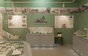 MSC's purpose-built exhibition gallery at Lakeside Arts, University Park.