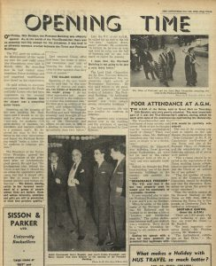 Article about the opening of the Portland Building called 'Opening Time'