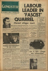 Article entitled 'Facist Quarrel'