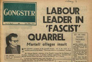 Article entitled 'Labour Leader in Fascist Quarrel'