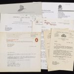 Correspondence with publishers from the Literary and Personal Papers of Madge Hales