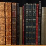 A selection of volumes from the Portland Literary Collection