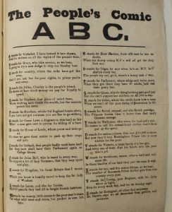 Page entitled The People's Comic ABC