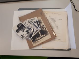 Papers of Stephen Lowe including photos and typescripts