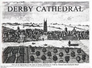Scanned copy of a view overlooking Derby